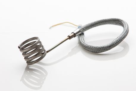 Spiralni grelec za ogrevanje šobe
